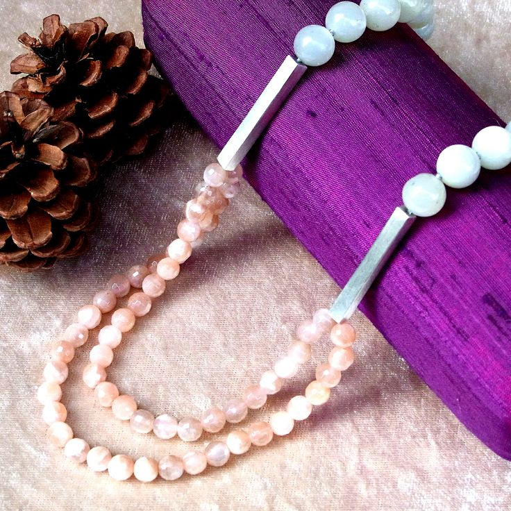 <2201:joid'art LLIMS necklace MOON STONE>