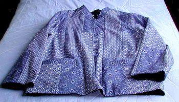 Doreen Williamson's fantastic Shwe Shwe Indigo jacket