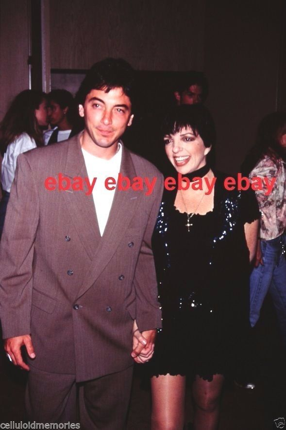 Here's an original 35mm slide featuring Scott Baio and Liza Minnelli. Great image on this one! This is being sold strictly as a collectors' item from one collector to another and no rights are transferred or implied.   eBay!