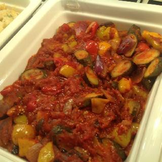Napolitana with veggies