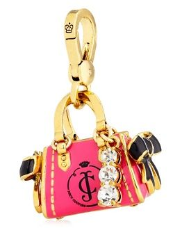 I'm loving Juicy Couture charms for my phone, just add the little lanyard...I have one for every day! Also cute on my pocket book!