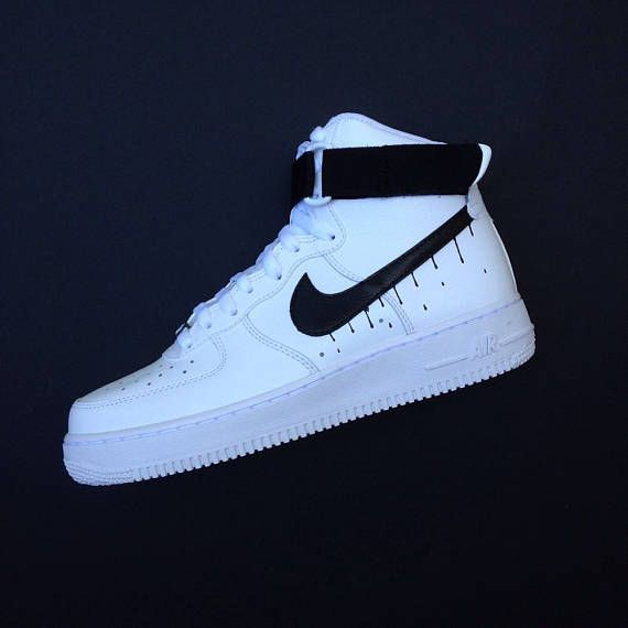 Nike Air Force 1 High Drip Custom Af1 Ad Airforce Shoefreak