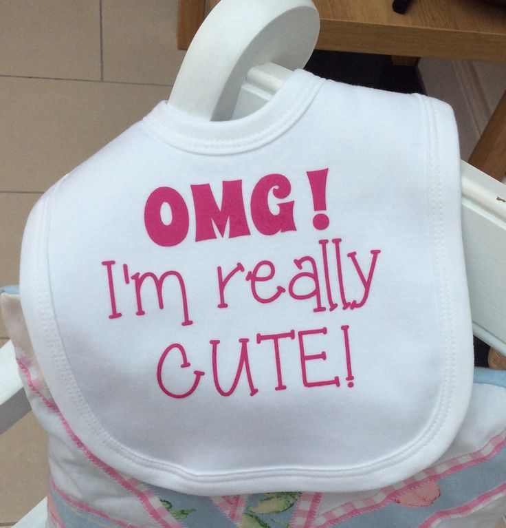 Vinyl Baby Bibs – Daily Motivational Quotes