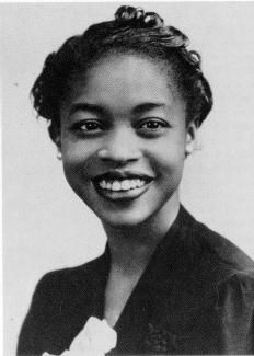"Margaret Walker. African American Author, poet, activist. Author of ""Jubilee"""