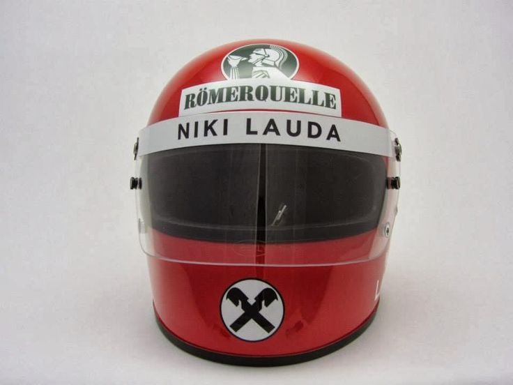 Bell Racing Helmets >> Racing Helmets Garage: RUSH - Bell Star Classic Niki Lauda 1976 by ... | Caschi, Motociclette