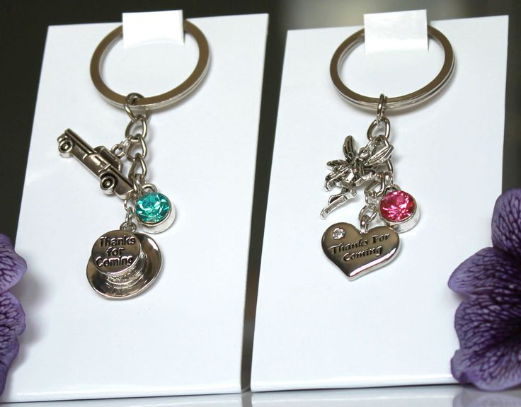 Personalised Wedding Day Favour Gift - Wedding Favours Keyring