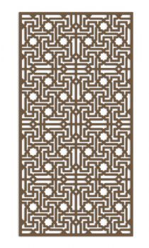 30-503F Islamic V3 Fretwork MDF Screen