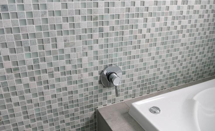 bathroom tiles (bazaza tiles). Decorator: Jeni Jewell Designs