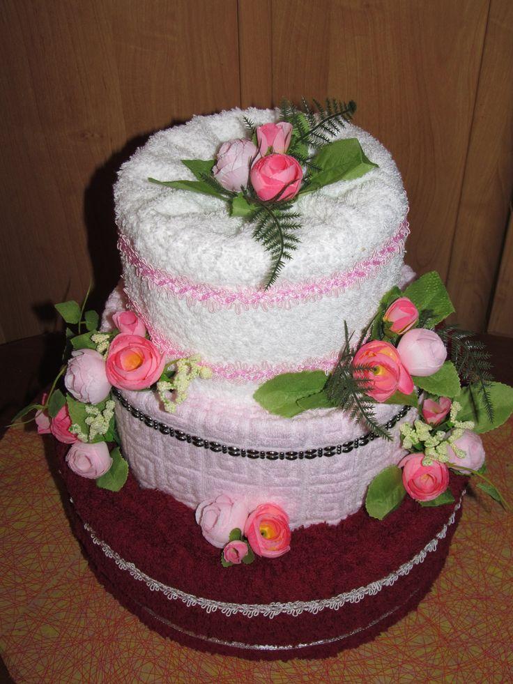 Необычные подарки торт из памперсов