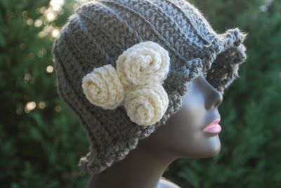 Cloche By Ayana - Free Crochet Pattern - (sensitivesnapdragon.blogspot)