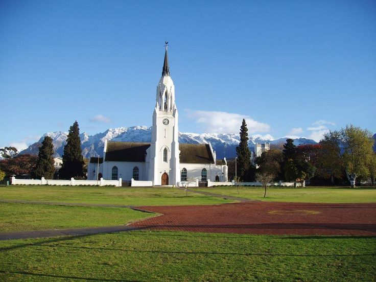 Snow covered mountains, Worcester, Western Cape South Africa