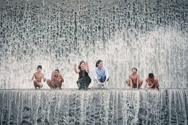 Secret photoshoot locations in Bali - tukad unda water dam