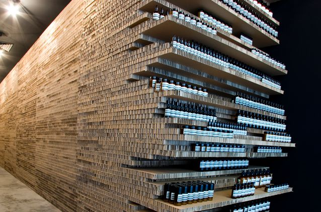 Aesop - made in Melbourne celebrates 25 years... We love their attitude to store design.