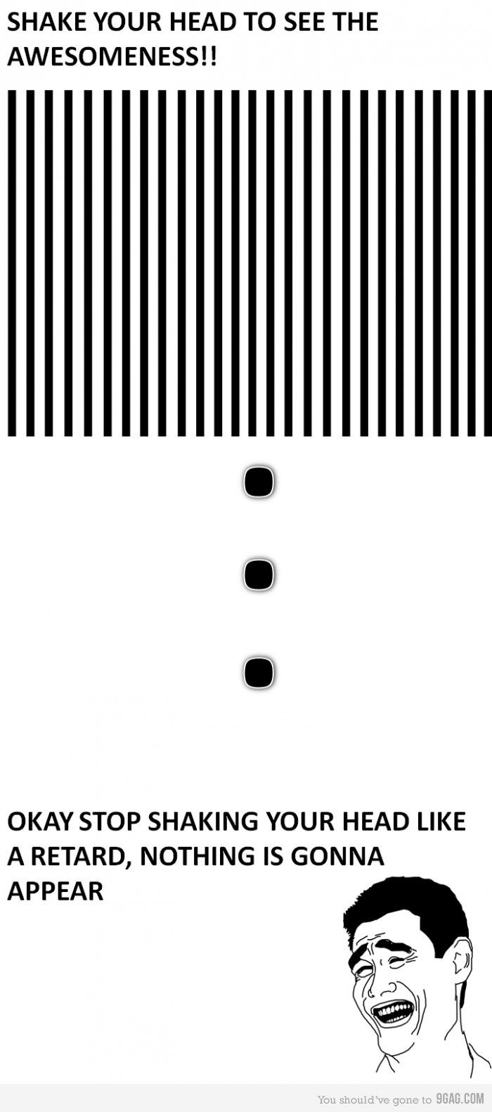 Totally Fell, Optical Illusions, Shakes, Laugh, Funny Stuff, Humor, Things, Head, Awesome Optical