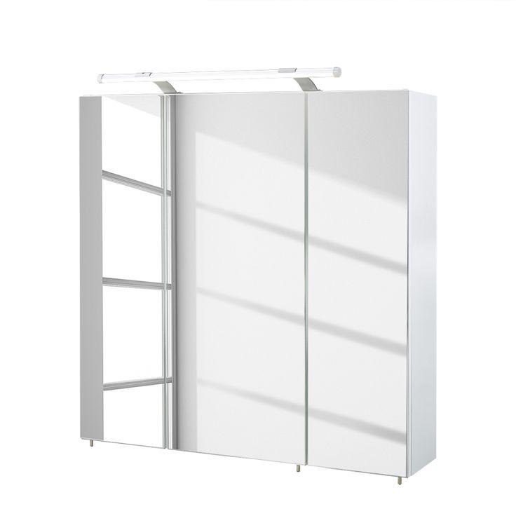 Beleuchtung)   Hochglanz Weiß   70 Cm   U20ac