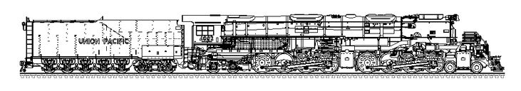 union pacific coloring pages | bigboy.gif (1000×175) | Colouring pages | Boy drawing ...