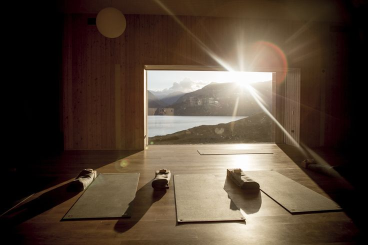Yoga sunrises at Aro Ha Retreat, New Zealand