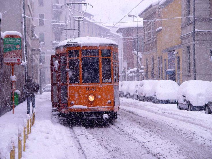 Milano con la neve...