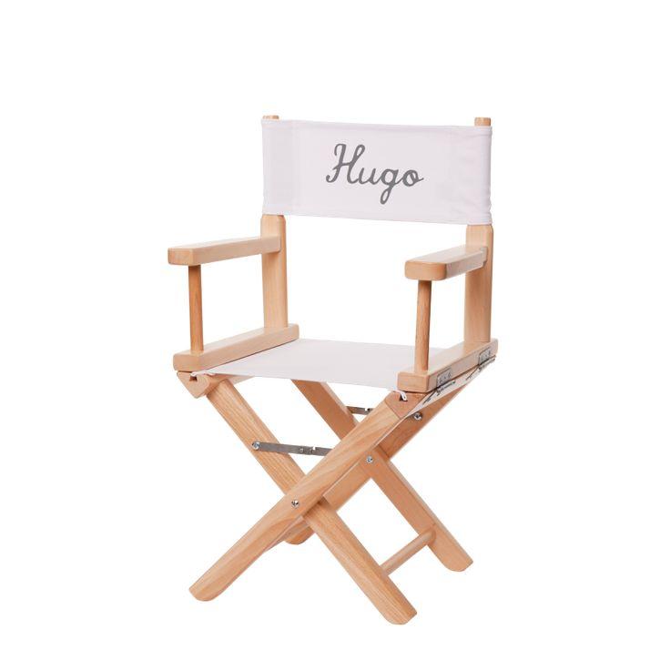 Chaise De Cinema Pour Enfant Personnalisee Toile Unie Blanche Chaise Cinema Enfant Petit Fauteuil
