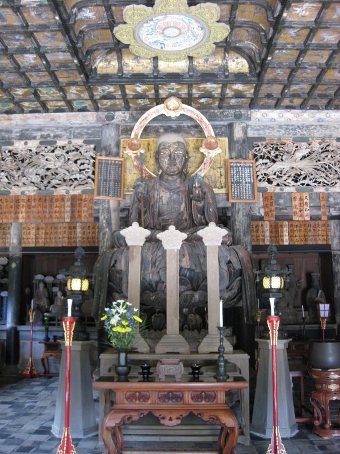 Buddhist temple Kenchoji in Kamakura, Japan