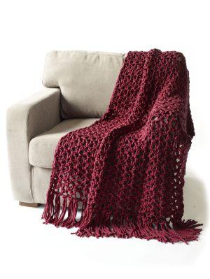 5 1/2 Hour Throw: Crochet Blankets, Lion Branding Yarns, Hour Throw, 1 2 Hour, Super Bulki, Crochet Throw, Crochet Patterns, Free Patterns, Throw Blankets