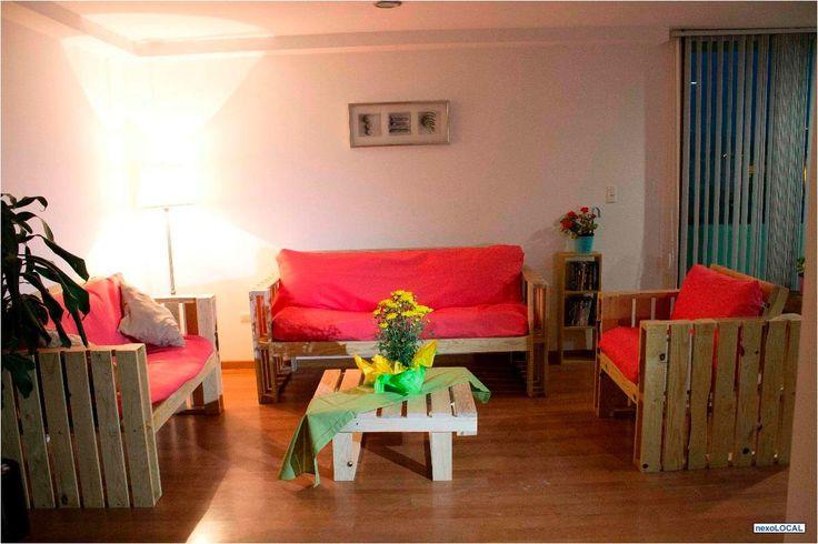 93 best decoro mi hogar images on pinterest home ideas for Muebles de jardin con tarimas