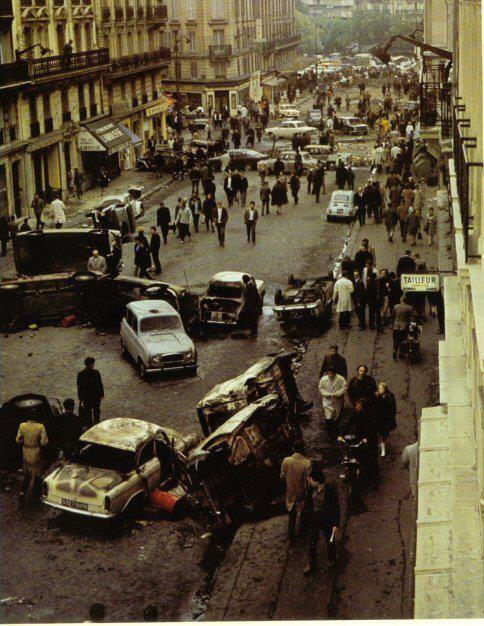 Unknown, Quartier Latin, Paris May 1968