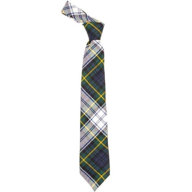 Gordon Dress Modern Tartan Tie - Front