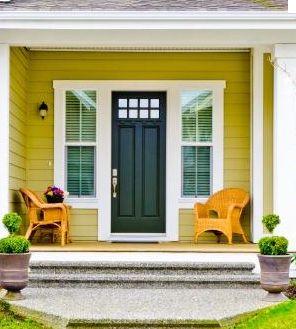 Yellow House Black Door 29 best front door color change images on pinterest | yellow