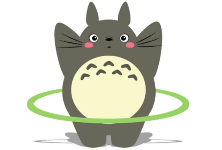 La vie secrète de Totoro dans des GIFs animés adorables   Ufunk.net