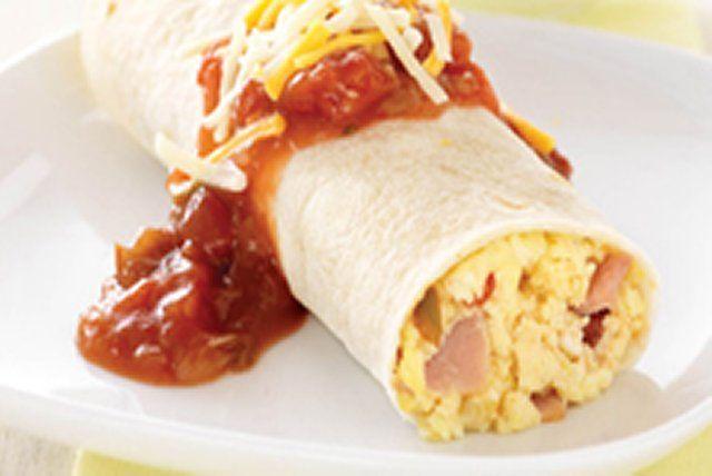 Burritos rapides pour le petit déjeuner