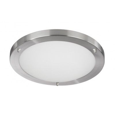 Opal Large Bathroom Light (satin silver)