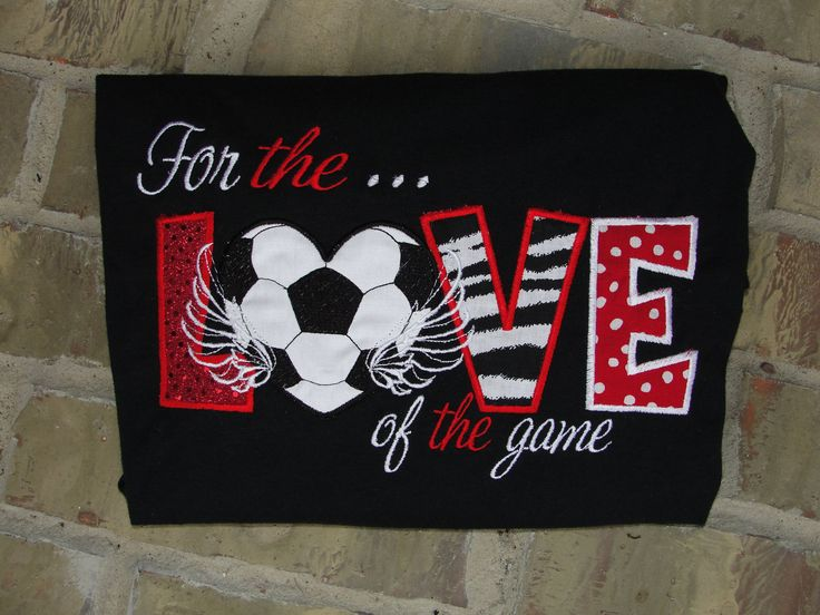 For the LOVE of the game.  This is great for all the soccer moms out there.. $25.00, via Etsy.