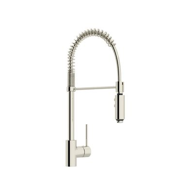 Rohl Modern Kitchen Architectural Side Lever Pro Pull Down Kitchen Faucet