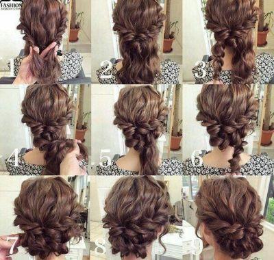 Easy Elegant Hairstyles for Long Wavy Hair