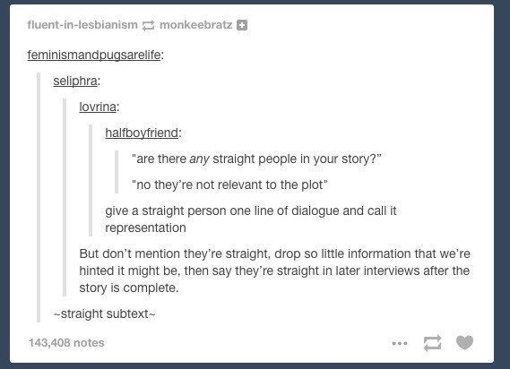 When the script was flipped: | 13 Times Tumblr Made You Check Your Homophobia At The Door