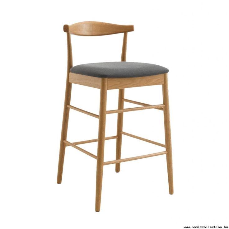 Wendo barstool #basiccollection #barstool #upholstered #wooden