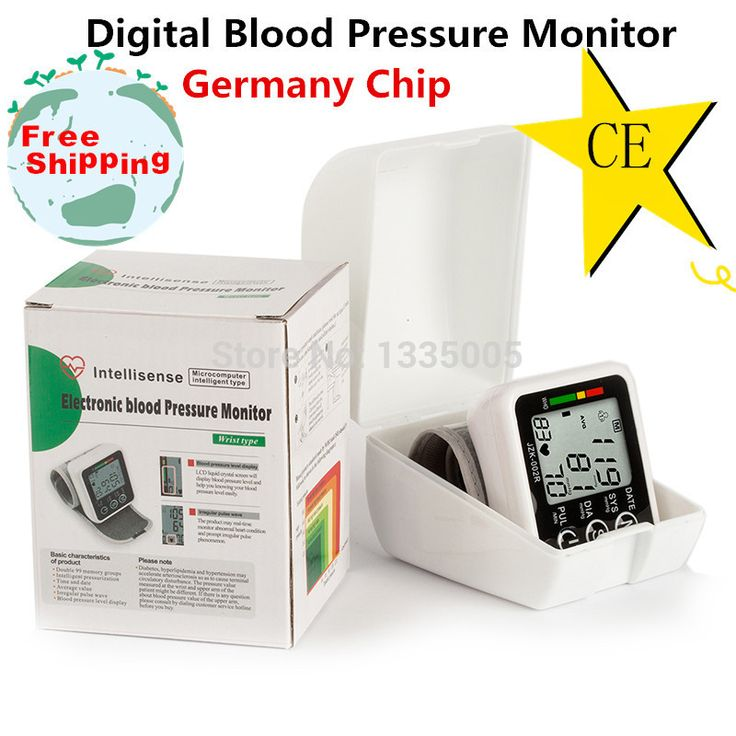 Germany chip automatic wrist digital blood pressure monitor measurement meter for measuring blood pressure and pulse rate It is with germany chip, very accurate. And it will send with full English Package both with inner Plastice White Box and Outside Carton Package, very beautiful. Can send as gift! All goods have in stock. Using the ...