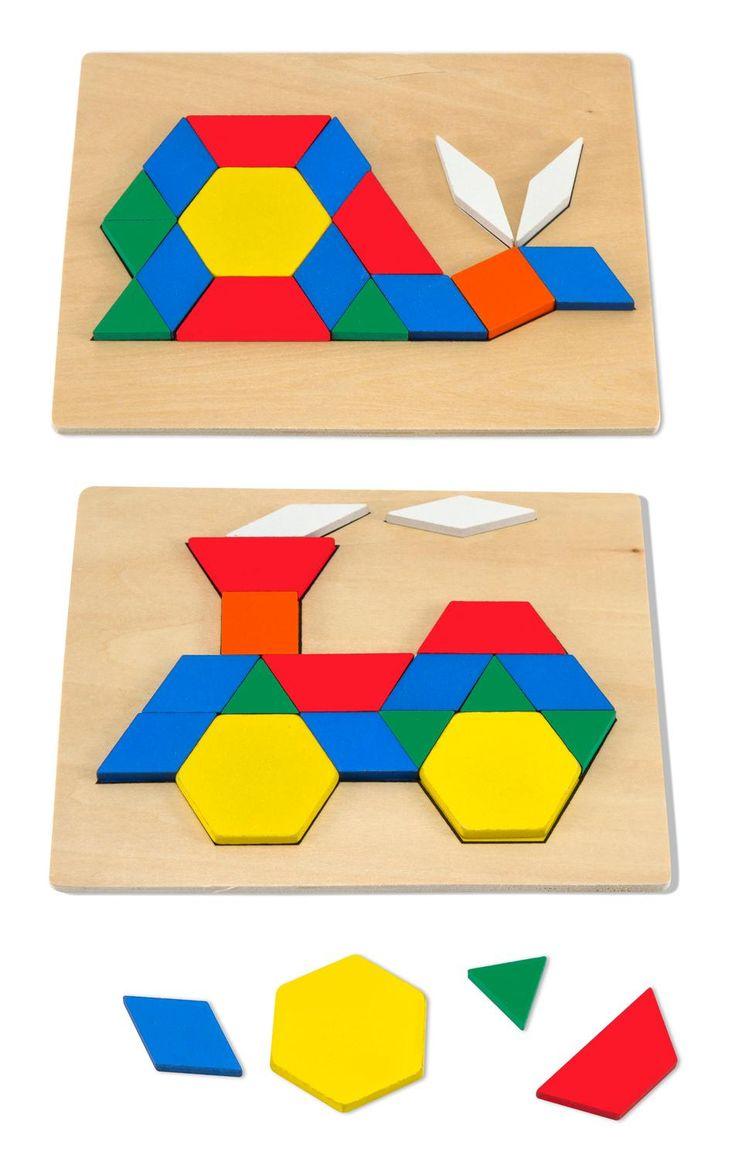 mosaics, preschool toy, geometric shapes, wooden tiles, patterns