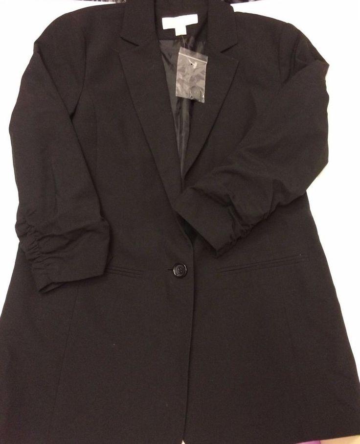 Michael By Michael Kors Black Blazer Women's 8 #MichaelKors #Blazer