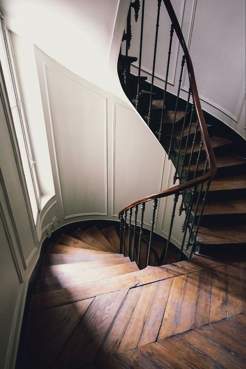 ascend here. -★- Wood stairs