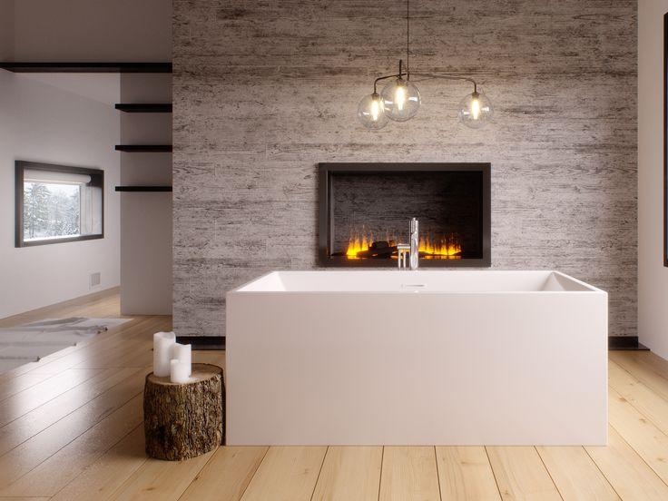 Les 25 meilleures id es concernant bain autoportant sur for Fibre de verre salle de bain