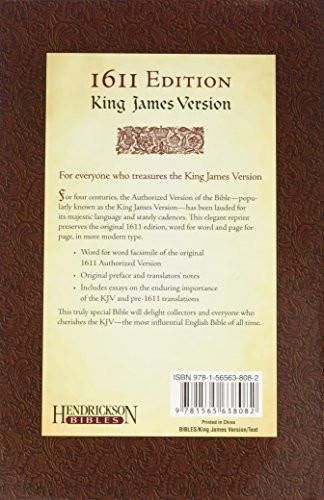 The Holy Bible: King James version: 1611 Edition