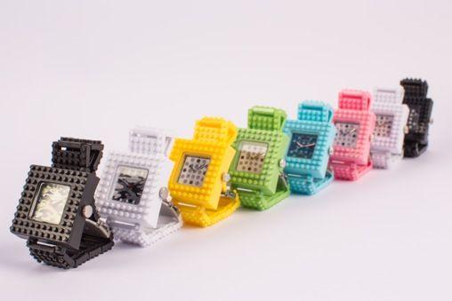Wanna them all! #Nanoblock #watch #fashion http://tribeatwork.com/en/nanoblock/