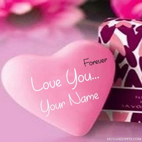 Forever Love U With Name Profile Image. Write My Name Love U Profile ...