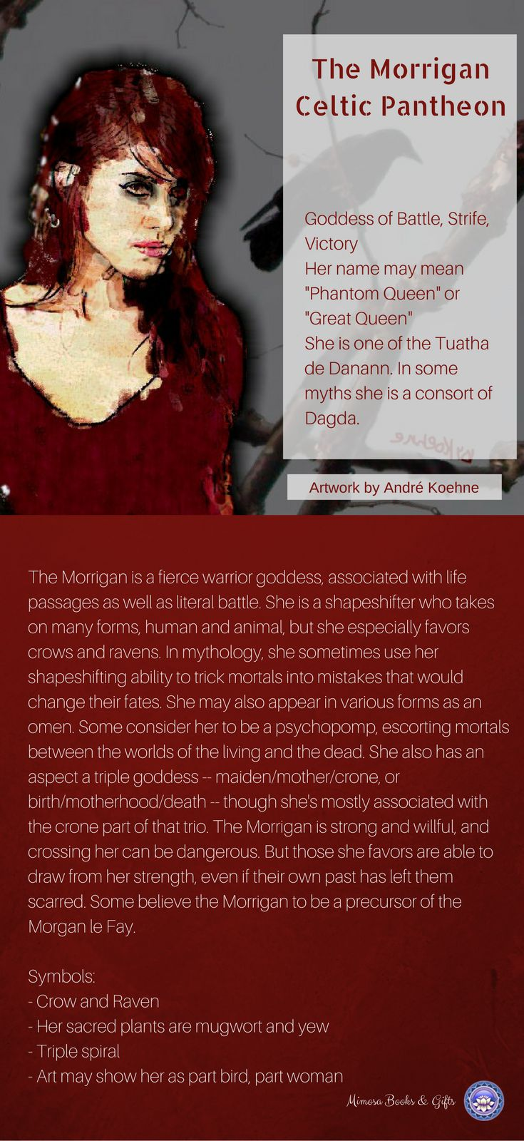 The Morrigan - Mimosa Books & Gifts