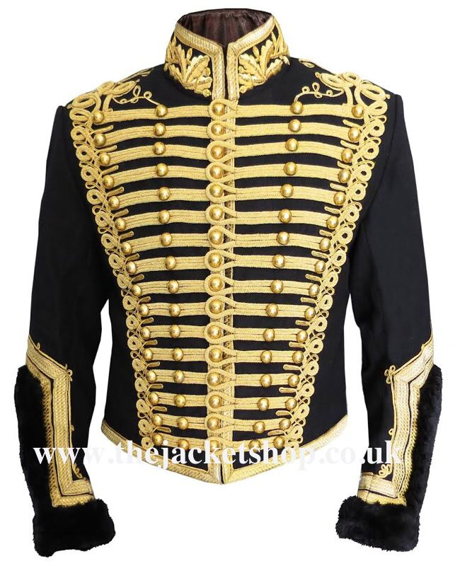 Afbeelding van http://www.thejacketshop.co.uk/Napoleonic%20Officers%20Hussars%20Uniform%20Tunic/Officers-Hussars-Uniform-Tunic.jpg.