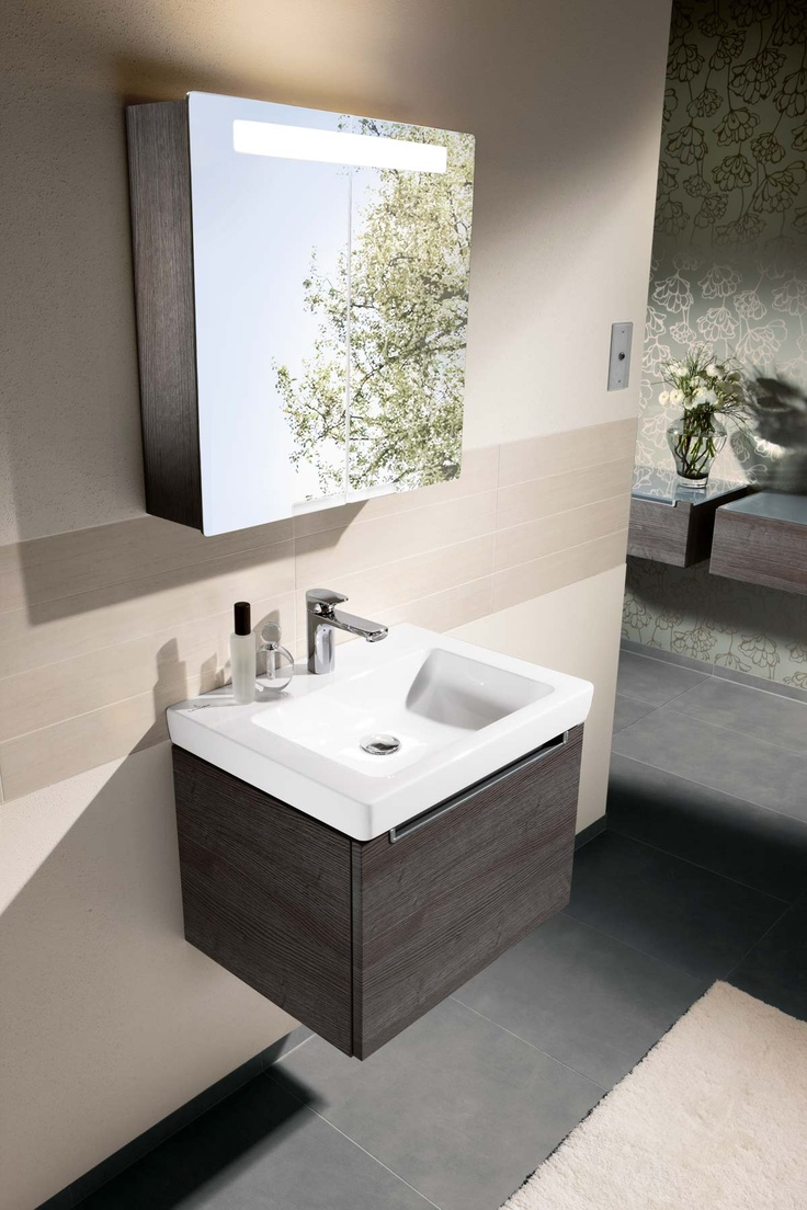 Villeroy and boch bathroom sink - Villeroy Boch Subway Furniture Oak Graphite The New Sink We Have Waiting To Be Fitted