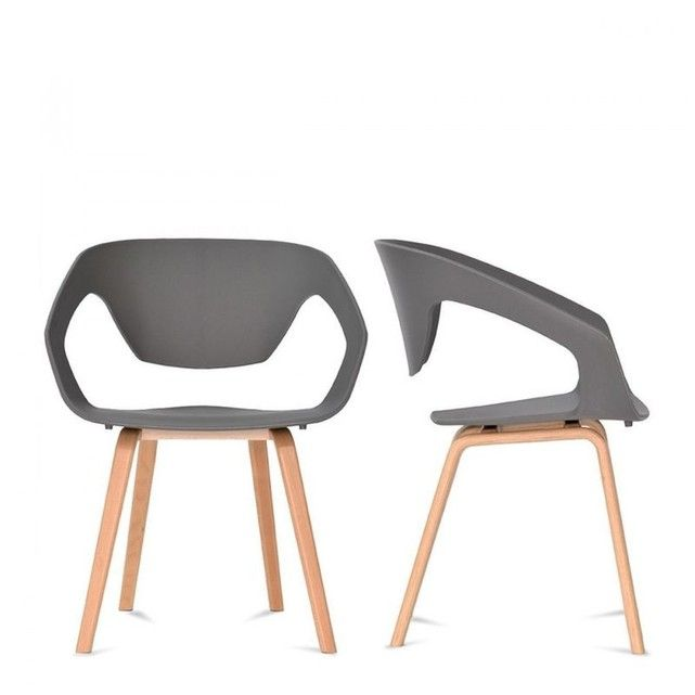 25 best ideas about chaise scandinave grise on pinterest - Chaise grise tissu ...