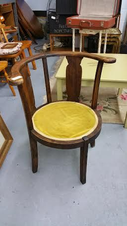 This divine little chair is straight from the 1920's and an absolute bargain at $50!
